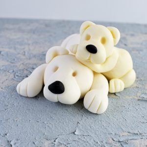 Polar Bear Cake Topper