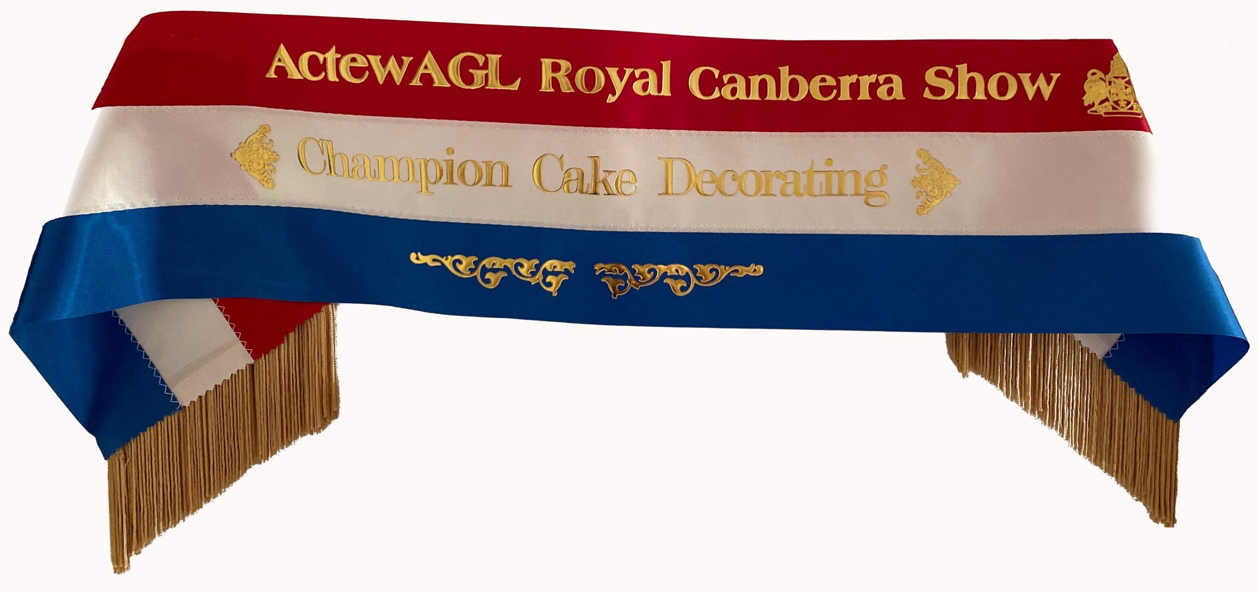 Cake Decorating Champion