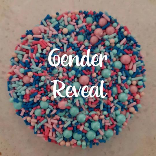 Gender Reveal Sprinkles